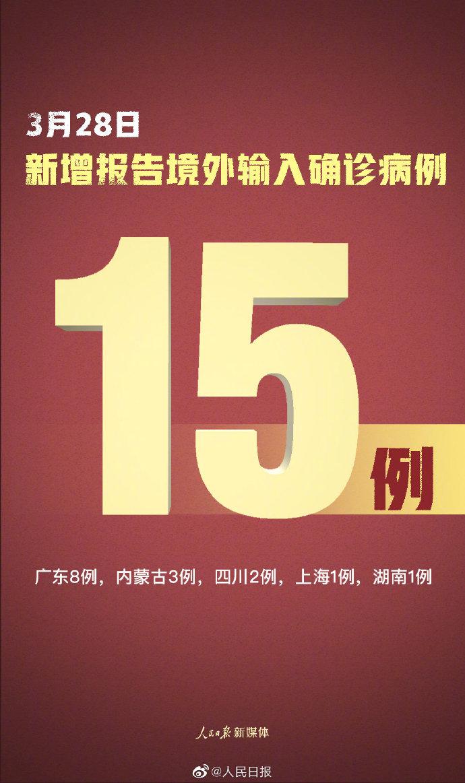 31省区市本土零新增 31省区市新增确诊15例均为境外输入
