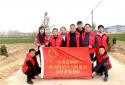 """安阳内黄县新联会组织开展""""美丽乡村行,共植一片绿""""植树活动"""