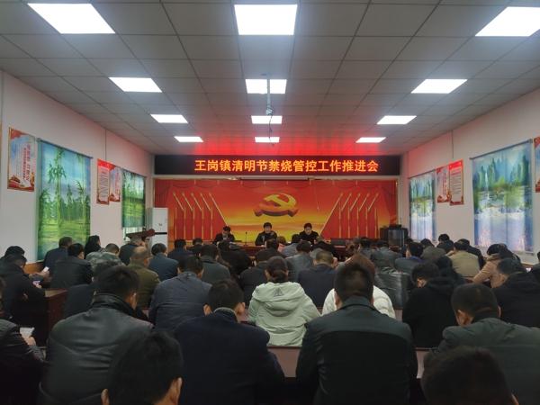 汝南县王岗镇积极做好清明节期间禁烧管控工作