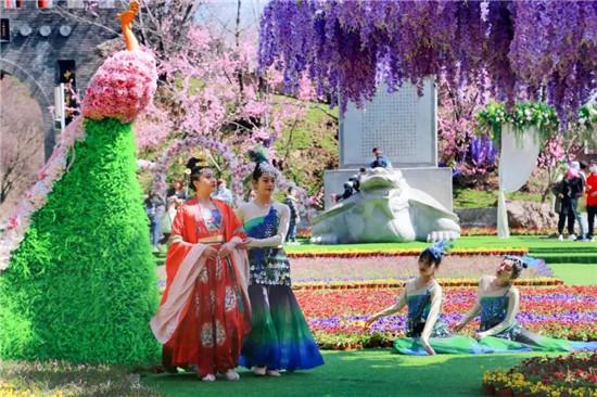 十二花神下凡、四大美人降临...这个清明小长假,老君山仙山花海节不一般!
