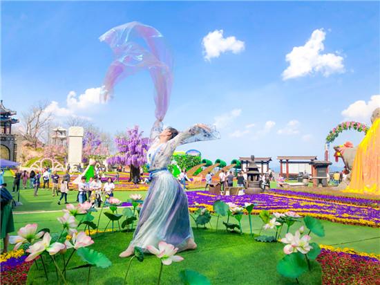 十二花神下凡、四大美人降临......这个清明小长假,老君山仙山花海节不一般!