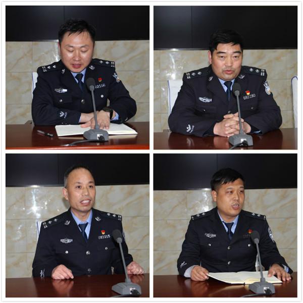 """新野县公安局:举办""""学英模我践行""""主题座谈会"""