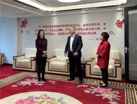 惠济区委常委、统战部部长马素华调研新的社会阶层人士统战工作