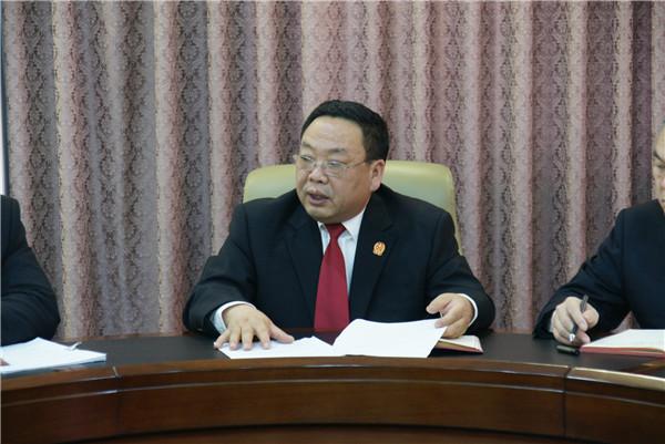 邓州市法院:学方案 明目标 严措施 真落实