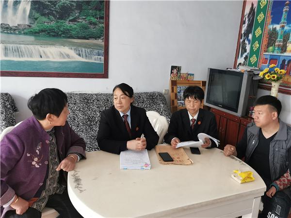 宁陵县法院:和谐执行寓情于法 真诚为民暖人心