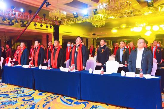 鄭州市阜陽商會正式成立 楊獻當選會長