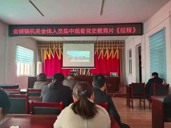 汝南县金铺镇党史学习教育专题片《征程》