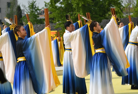 辛丑年黄帝故里拜祖大典隆重举行,全球华人礼拜始祖轩辕!