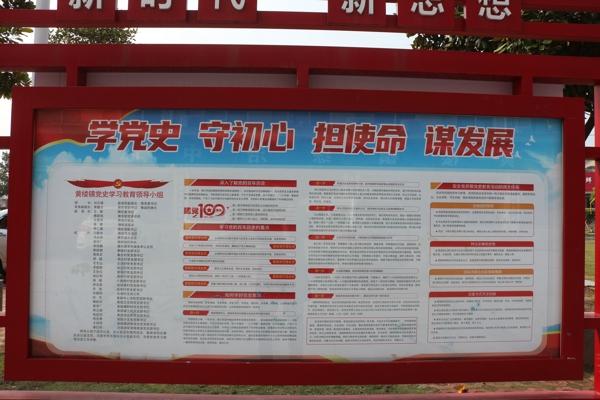 新蔡县黄楼镇党史学习教育宣传有声有色