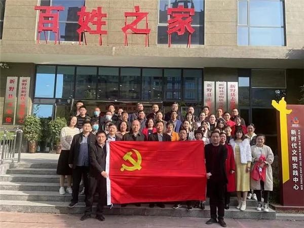 新野县医院:开展现场教学 传承红色基因