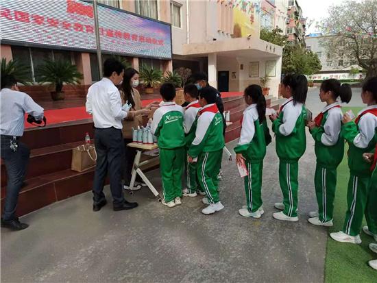 全民国家安全教育日宣传教育进校园活动在开封县街小学启幕