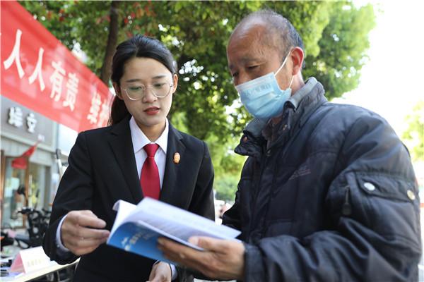内乡县法院开展国家安全教育日普法宣传活动