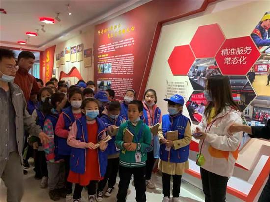 郑州市南阳路街道党群开展青少年爱国爱党教育