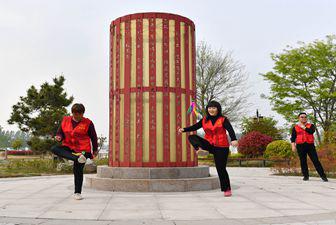 河南夏邑:趣味运动欢乐多