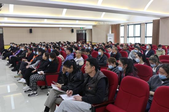 以史明智 郑州市第九十中学集中参加党史学习教育专题讲座