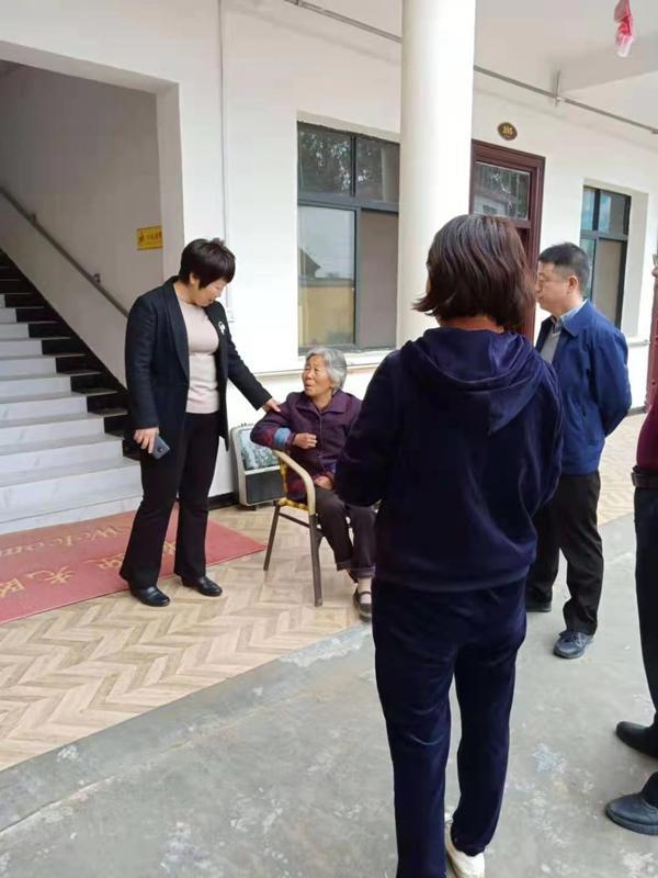 邓州市张村镇:学习党史办实事 幸福大院彰民生