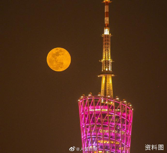 今年首次超级月亮27日上演 各地都可观赏!
