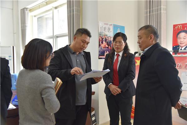 河南省委驻点指导组到桐柏县法院督导检查教育整顿查纠整改环节工作