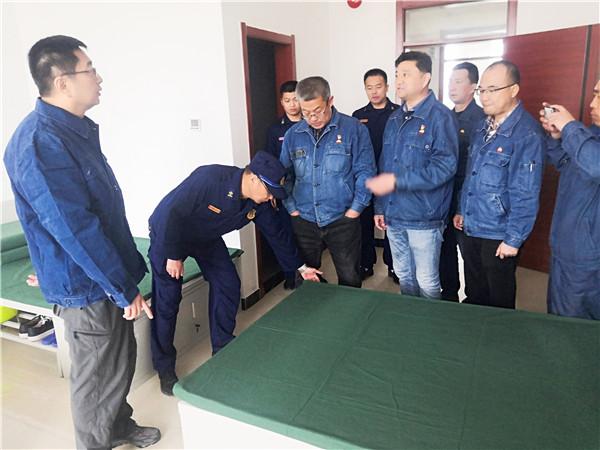 独山子石化天云公司领导慰问塔里木乙烯消气防项目部全体指战员