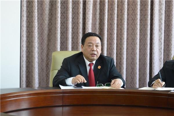 邓州市法院召开教育整顿专题民主生活会