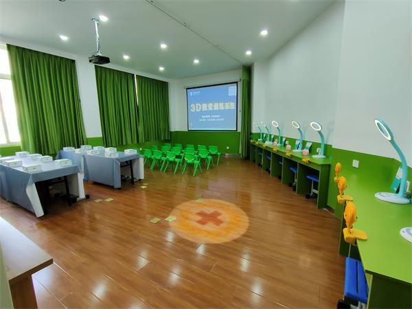 """郑州市实验小学童瞳眼科""""爱眼屋""""即将建成并投入使用"""