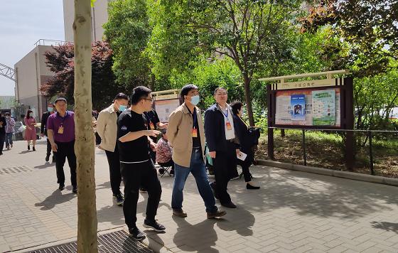 """郑州市金水区人大国基路街道工委开展第一季度 """"代表双活动日""""活动"""