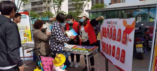 """郑东新区深入开展 """"禁毒禁种普法""""宣传活动"""