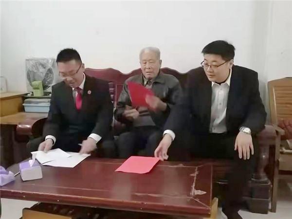 新野县人民法院开展廉政家访活动