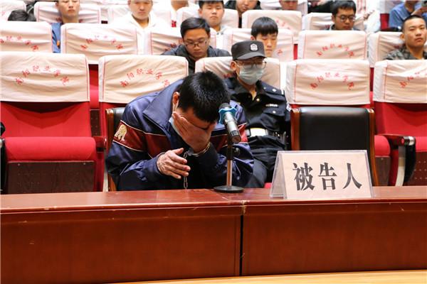 西峡县法院:巡回审理电信诈骗 以案说法师生受教