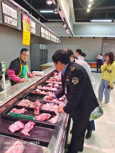 """汝南县金铺镇食药所积极开展""""五一""""节前食品安全监督检查"""