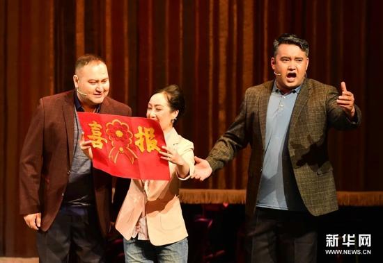 清唱剧《葡萄熟了》在乌鲁木齐首演
