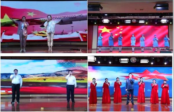 """奋进新时代 颂歌献给党——新野县医院举行""""迎五一、庆五四""""红歌比赛"""
