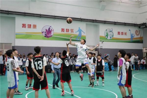 """体育青春 梦想之""""篮""""——南阳市第六完全学校高级中学首届""""校长杯""""篮球比赛"""