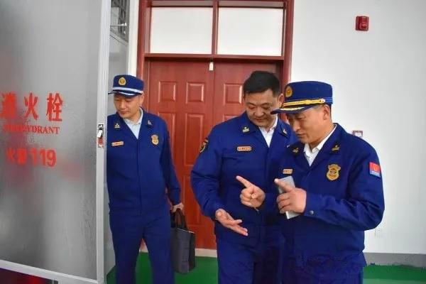 """南阳消防支队对""""玉雕节""""涉会场所开展消防安全督导检查工作"""