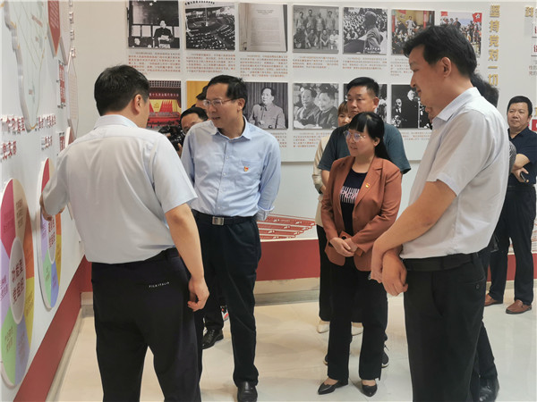南阳市委常委、组织部长李永到唐河县桐河乡调研指导全域党建工作