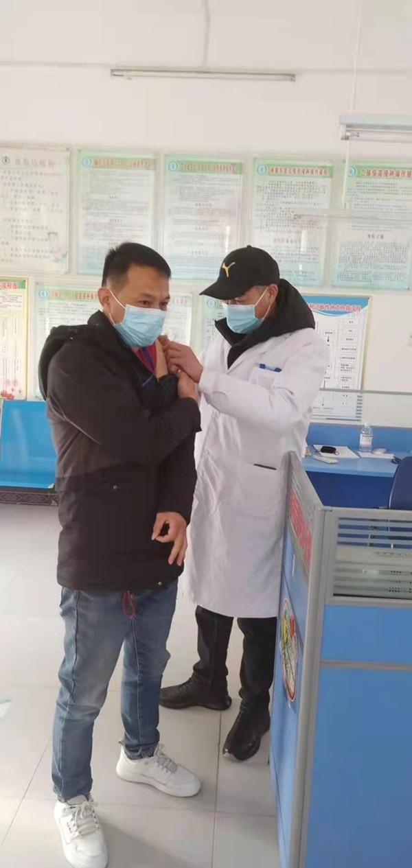 邓州市林扒镇卫生院:积极组织群众免费接种新冠疫苗 
