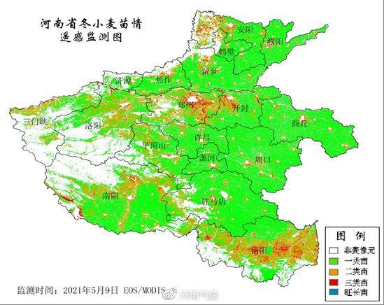 14-15日河南省大部有明显降水