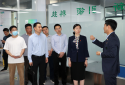 共青团郑州市委书记石玉一行到到郑州浩创农业科技有限公司调研
