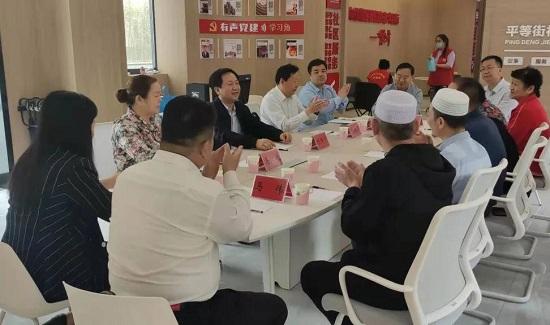陈照顺一行赴郑州管城区开展开斋节慰问活动