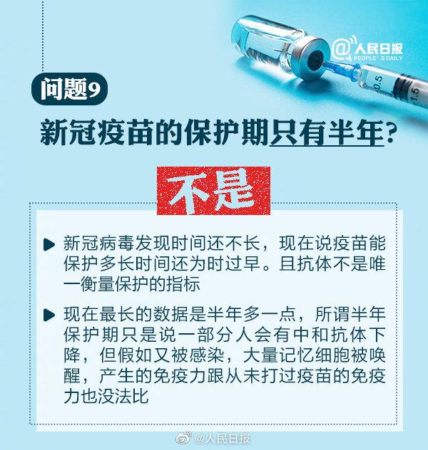 周知!最新10问了解新冠疫苗接种