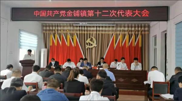 汝南县金铺镇第十二次代表大会胜利召开