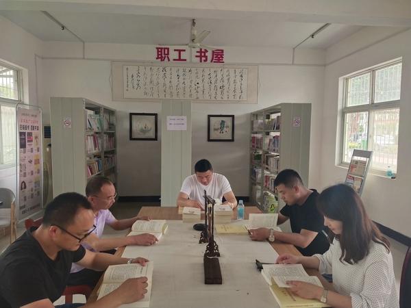 汝南县金铺镇深入开展党史学习教育读书活动