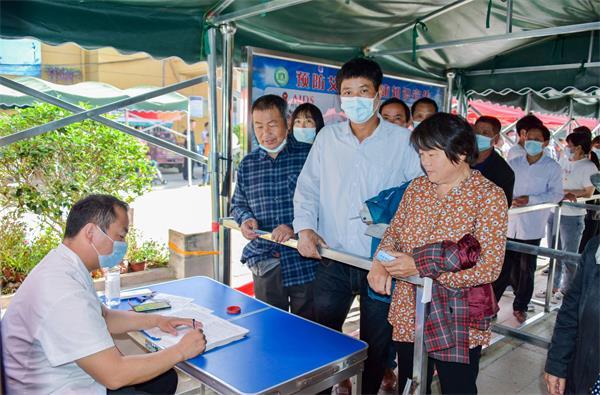 正阳县永兴镇:学党史、办实事 扎实推进疫苗接种
