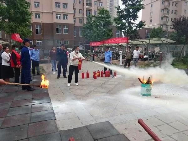 南阳消防支队开展社会单位消防安全宣传培训活动