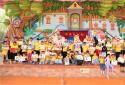 游动物王国、红色主题手绘……瑞阳养老·华枫社工带小朋友玩转六一