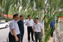 省生态环境厅领导视察中央生态环境保护督察案件整治工作情况