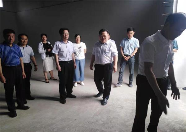 """南阳宛城区委书记刘中青调研指导""""三夏""""生产工作"""