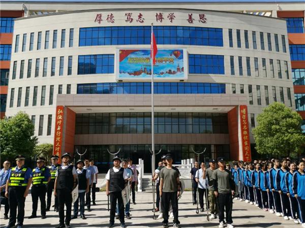 南阳宛城溧河乡组织开展校园安全应急演练