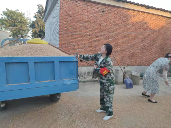汝南县韩庄镇党员做先锋树旗帜支部干实事强堡垒