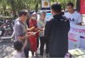 """人与自然和谐共生——郑州国基路街道办事处""""六五环境日""""宣传活动"""